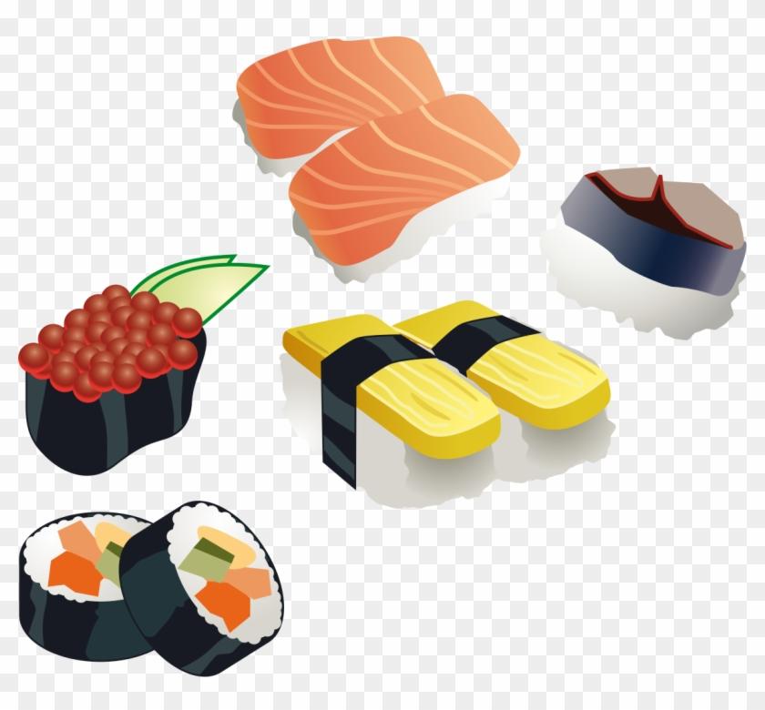 Sushi Set - Sushi Clip Art #100572