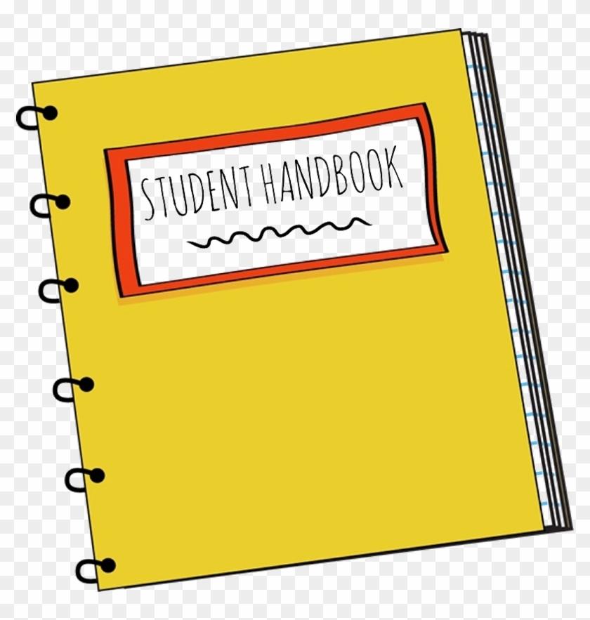 Handbook - Student Handbook Clipart #100694