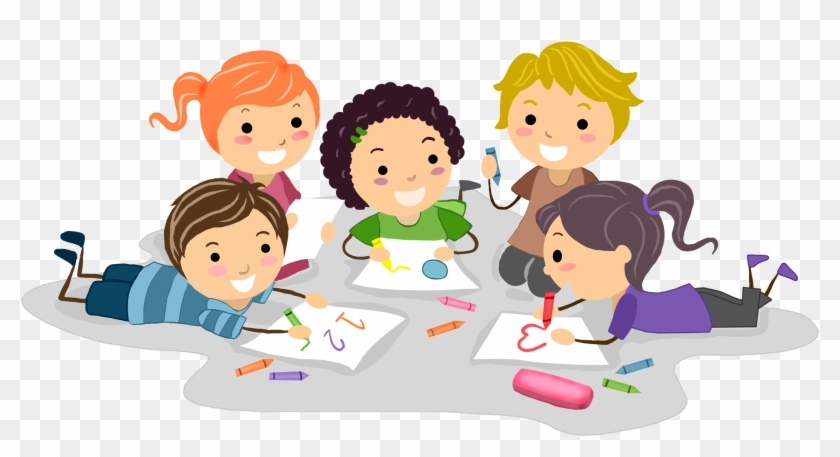 Children's Drawing Clip Art - Children's Drawing Clip Art #100784