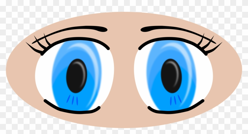 Clipart Anime Eyes - Cartoon Picture Of A Eyes #100792