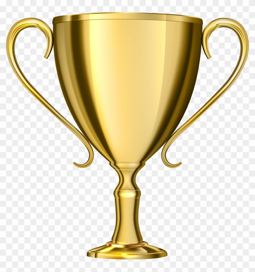 Gold Cup Award Transparent Png Clip Art - Trophy Png #100915