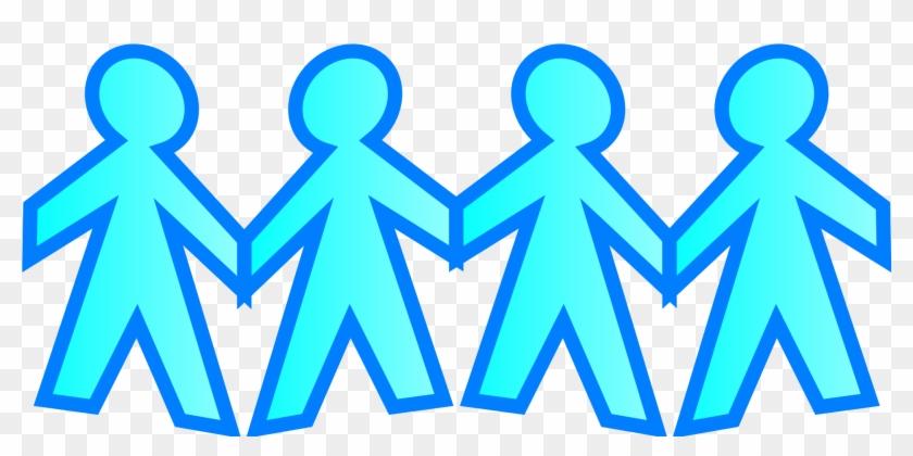 Stick Figure Holding Hands Clip Art - Clip Art Stick People Holding Hands #100912