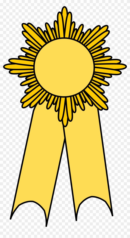 Big Image - Yellow Ribbon Clip Art #100918