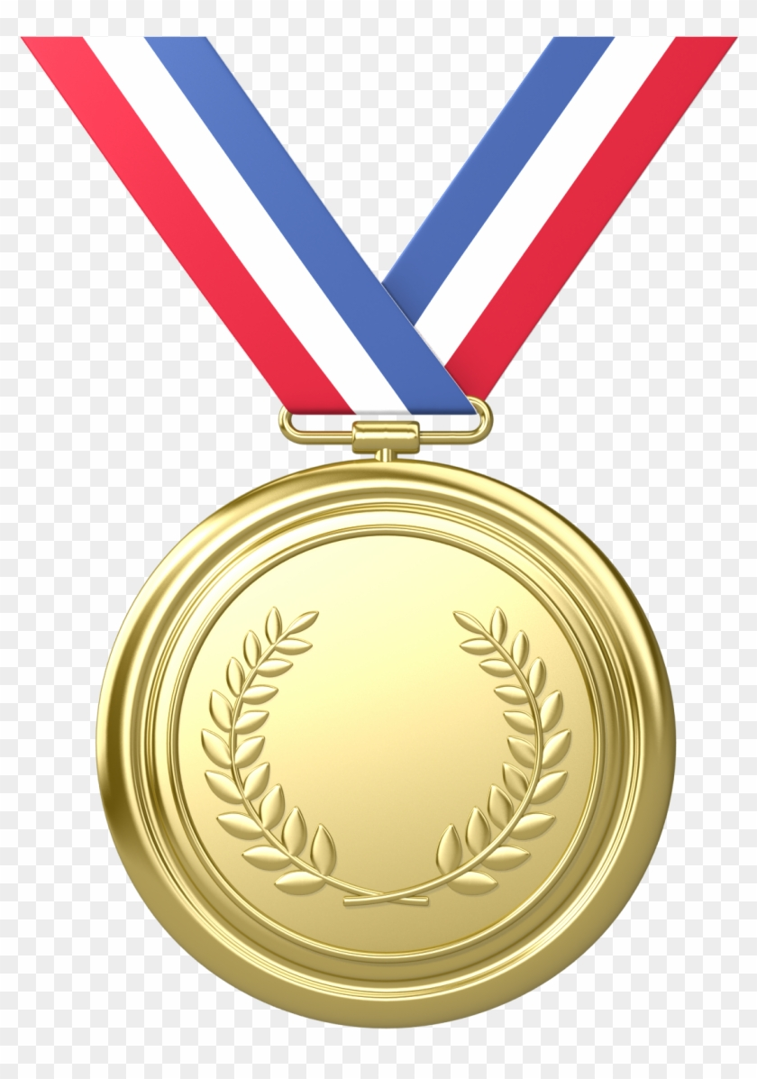 Platinum Award Clipart - Olympic Gold Medal Png #100964