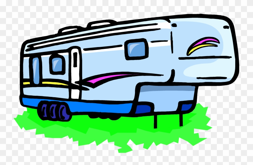 Rv Clip Art - 5th Wheel Clip Art #100984