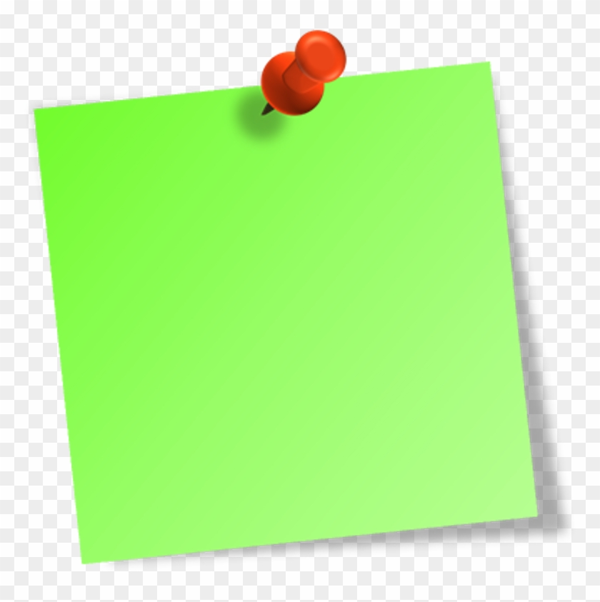 It Is All About The Thinking Process And A Fantastic - Green Post It Notes Png #101059