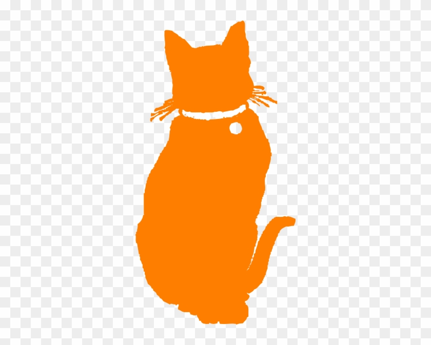 Cat Clipart Orange Cat - Orange Cat Clip Art #101067