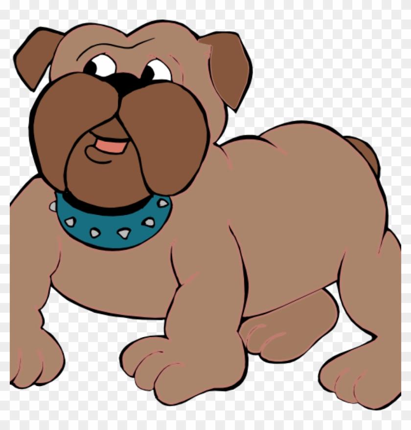 Pictures Of Cartoon Bulldogs Curious Bulldog Cartoon - Anjing Animasi #101085