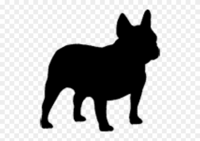 I Love French Bulldogs - Dog Silhouette French Bulldog #101149