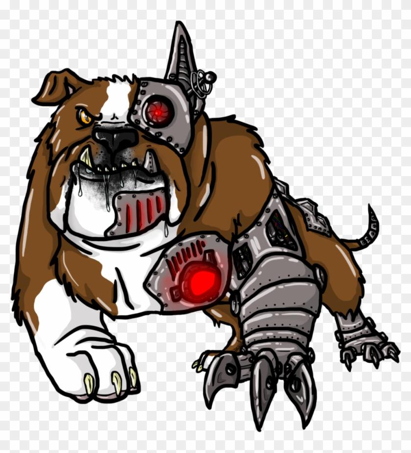Cyborg Bulldog By Astridan - Cyborg Bulldog #101160
