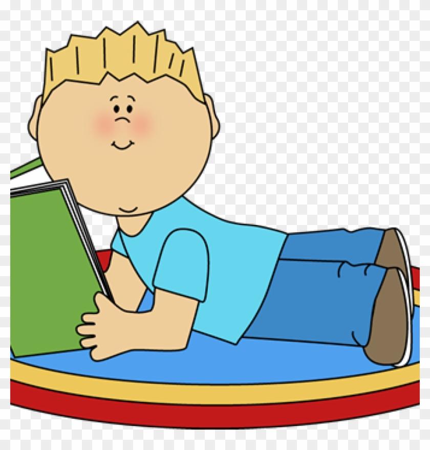 Reading Clipart Free Boy Reading Clip Art Boy Reading - Clip Art #101184