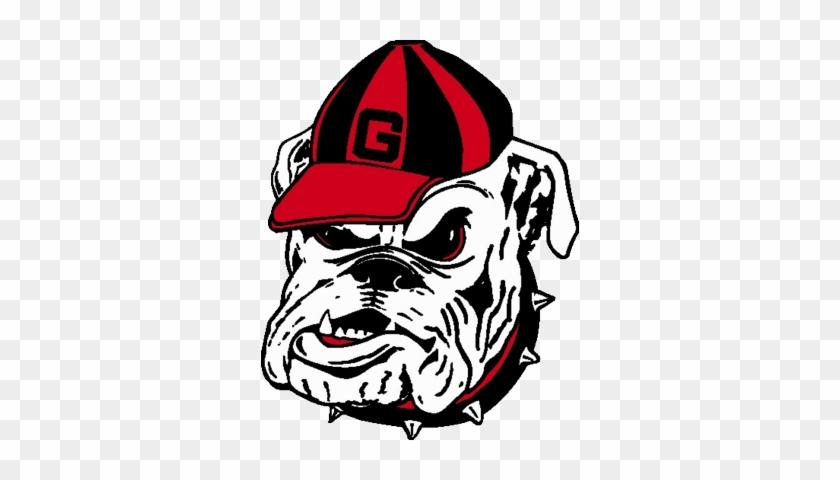 Georgia Bulldog Head Logo Psd, Vector Graphics - Georgia Bulldogs Football Logo #101187