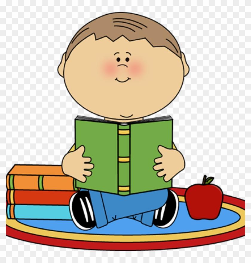 Child Reading Clipart Reading Clip Art Reading Images - Clip Art Girl Read Book #101196