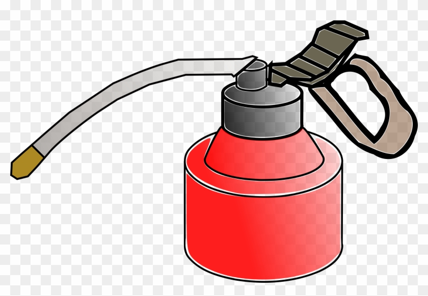 Clipart Of Oil Can Clipground - Clip Art Oil Can #101198