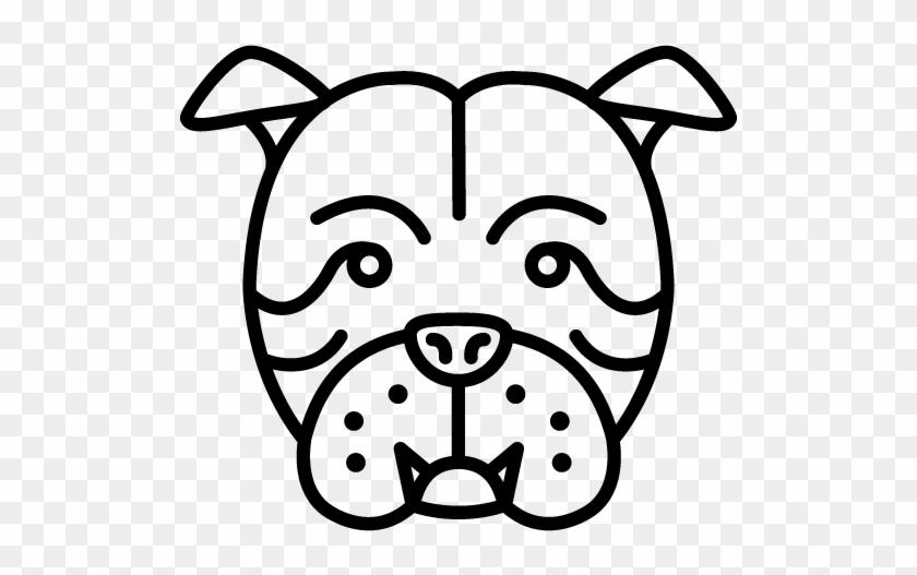 Bulldog Icon Png #101236