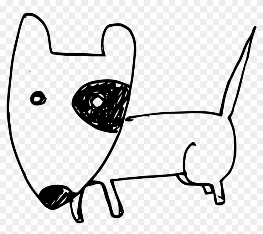 Bulldog Clipart - Cartoon English Bull Terrier #101245