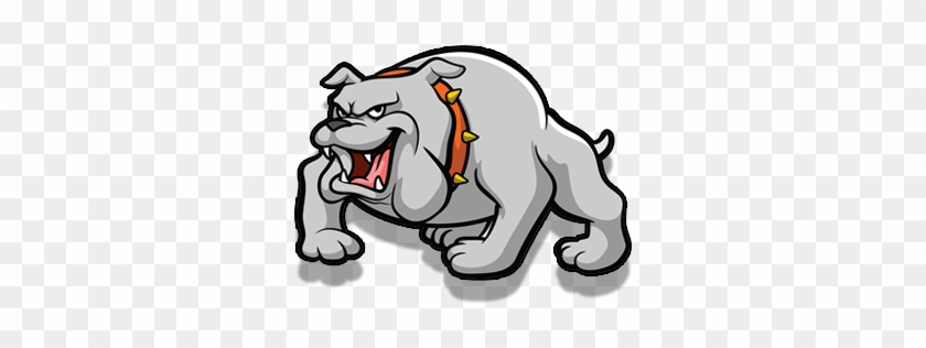 Bulldog Booster Club Membership Application - Rnk Shops School Mascot Outdoor Pillow (personalized) #101258