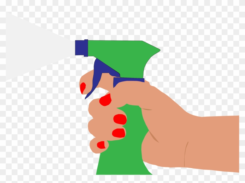 Solution - Spray Bottle Clip Art #101262