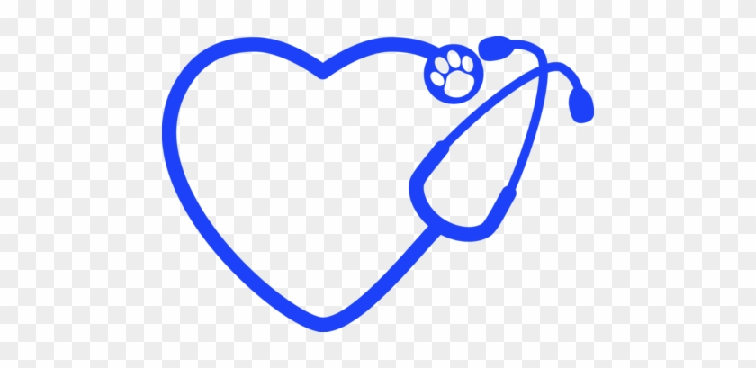 Veterinarian Stethoscope Decal - Scalable Vector Graphics #101383