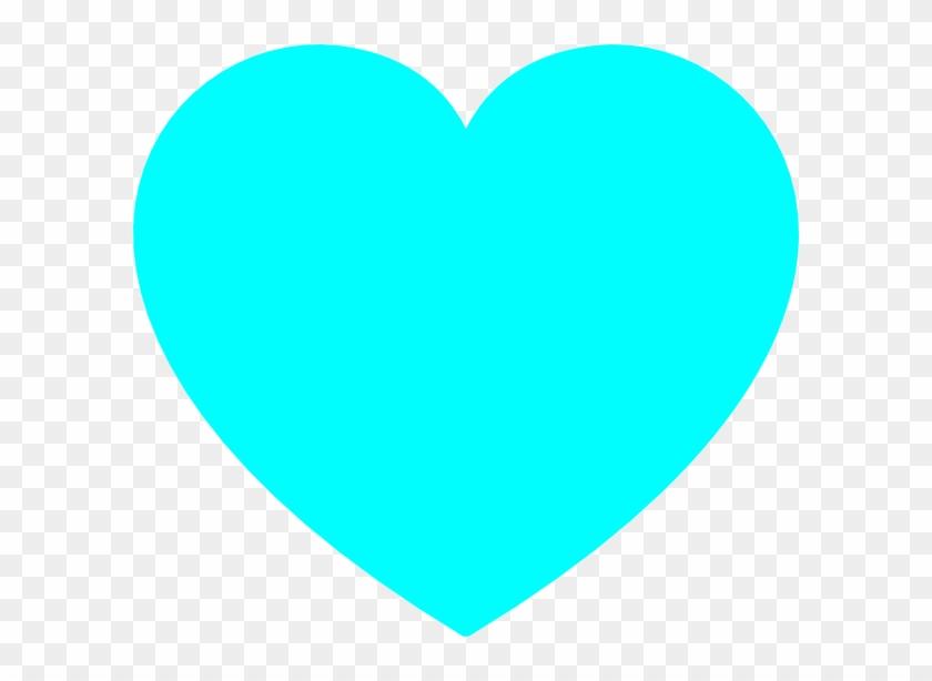 Blue Heart Clip Art - Light Blue Love Heart #101421