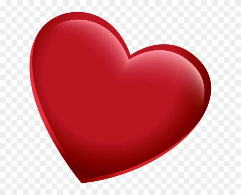 Share This Image - Red Heart Png #101471