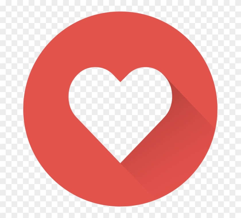 Red Heart Icon@2x - Facebook Love React #101539