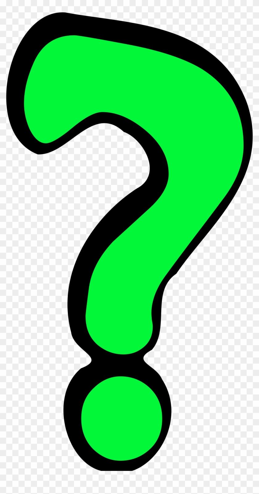 Big Image - Question Mark Clipart #101548