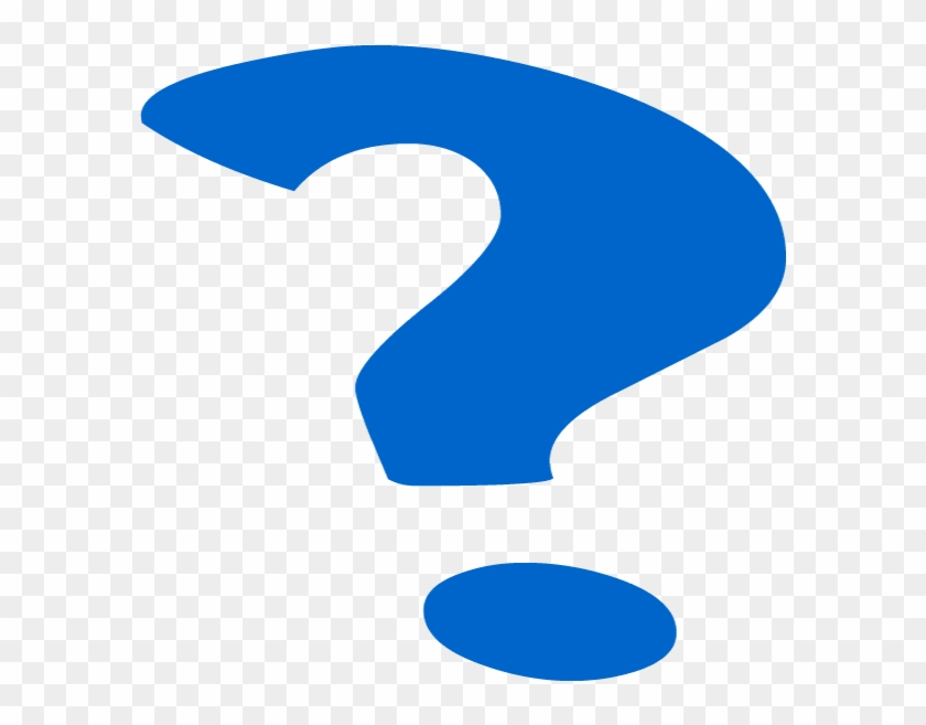 Who Was Willa On The Move - Blue Question Mark Png #101565