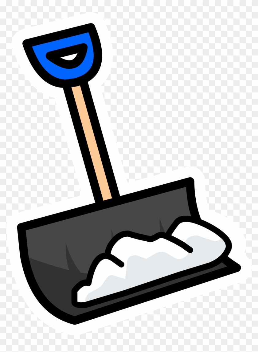 Snow Shovel Pin - Club Penguin #101653