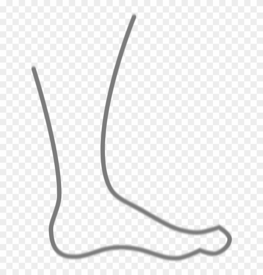 Foot Clip Art Images Illustrations Photos - Silueta De Un Pie #101771