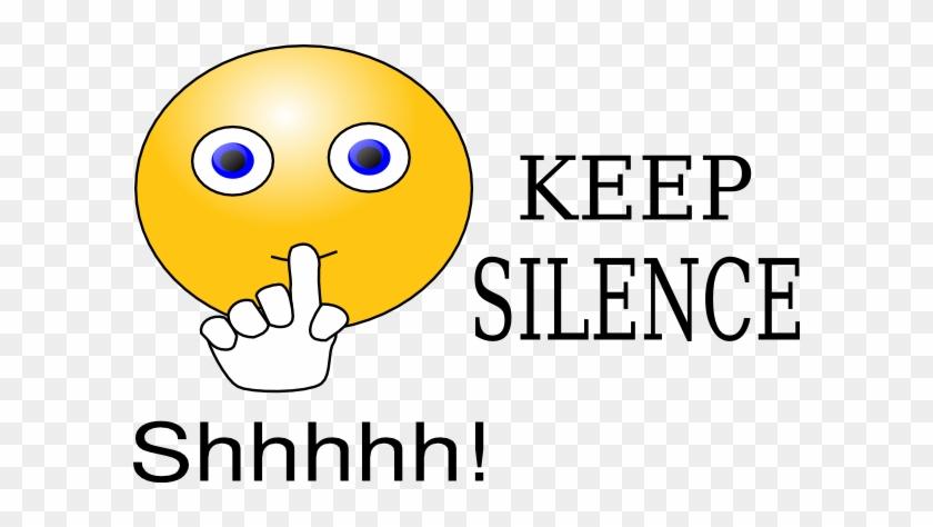 Shhh Clipart Keep Silence Clip Art At Clker Vector - Keep Silence Please #101777