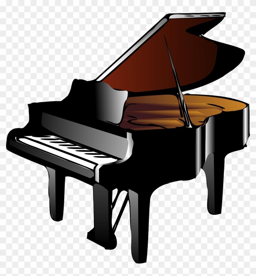Clipart Super Idea Piano Clipart Clip Art Free Vector - Yamaha Cx1 Piano #101785
