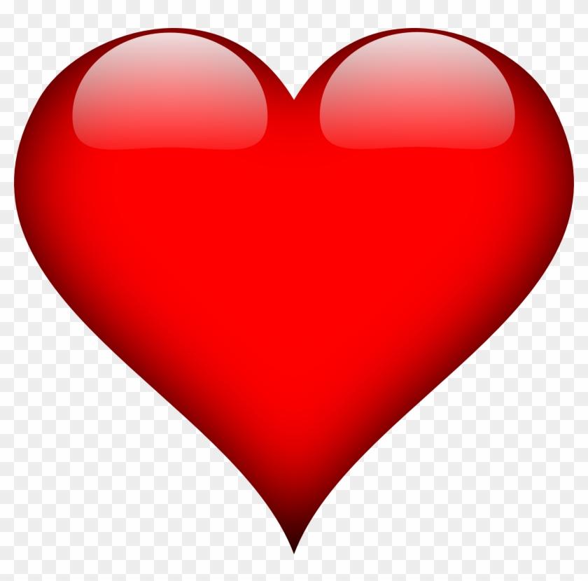 Clipart Amour - Imagem De Coração #101863