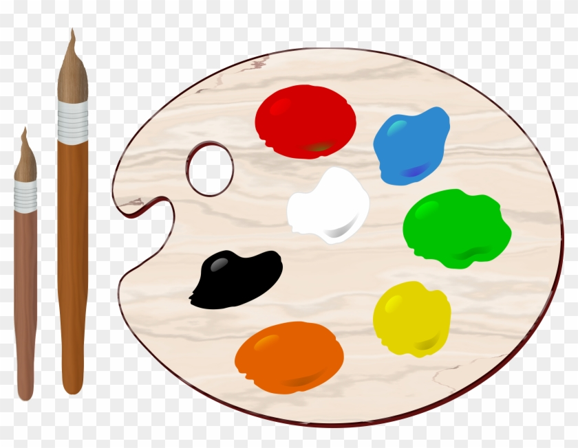 Paint Palette Clipart 20 Cliparts - Painting Color Clipart #101919