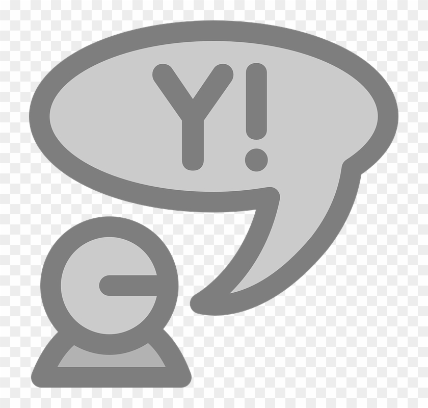 Chat Yahoo Instant Messenger Chatting Chat Room - Arrow Button #102048