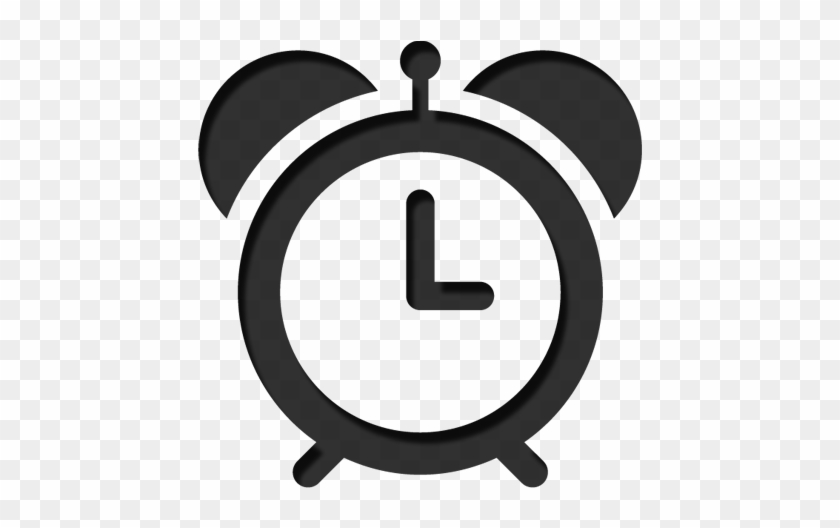What If I Run Late - Alarm Clock Icon Png #102047
