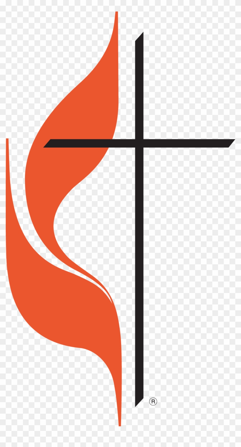 Clipart Methodist Cross Flame And Color 1108 2000 Spring - United Methodist Church Logo #102051