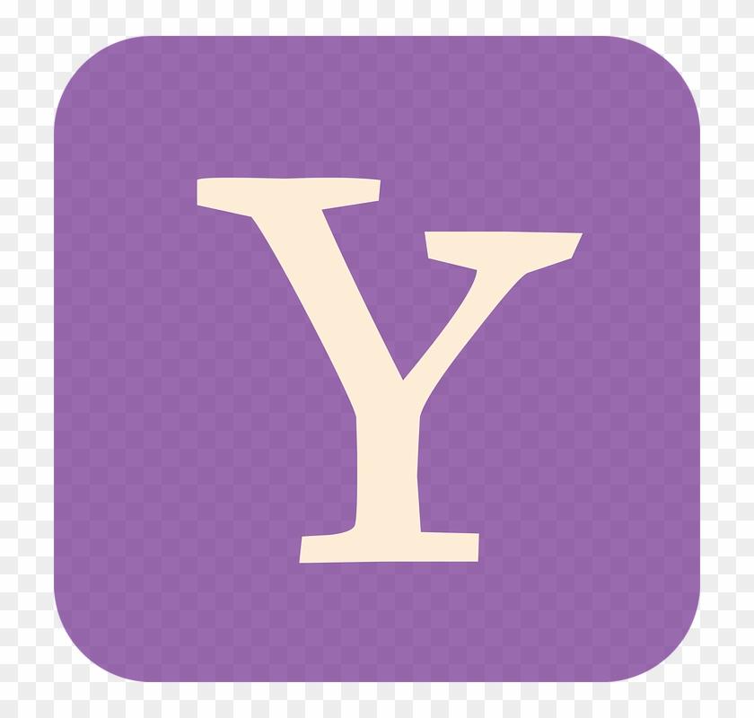 Yahoo Yahoo Flat Icon Yahoo Social Media Icon - Yahoo Symbol #102054