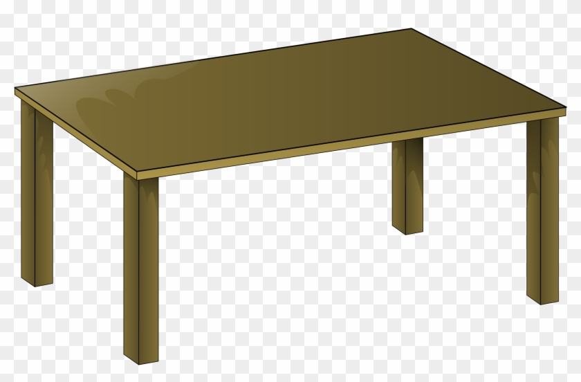 Round Table Clip Art - Table Clipart #102154