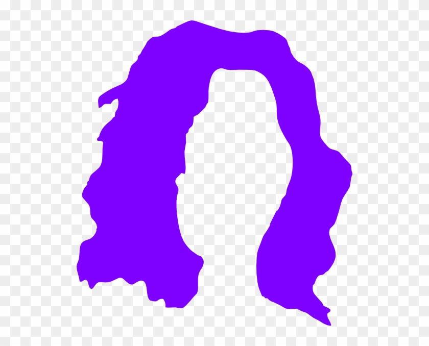 Brown Hair Wig Clipart - Svgz Clip Art Download #102206