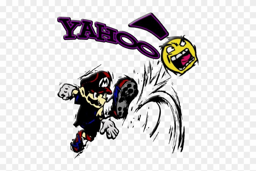 Mario Yahoo Kicker - Mario Strikers #102225
