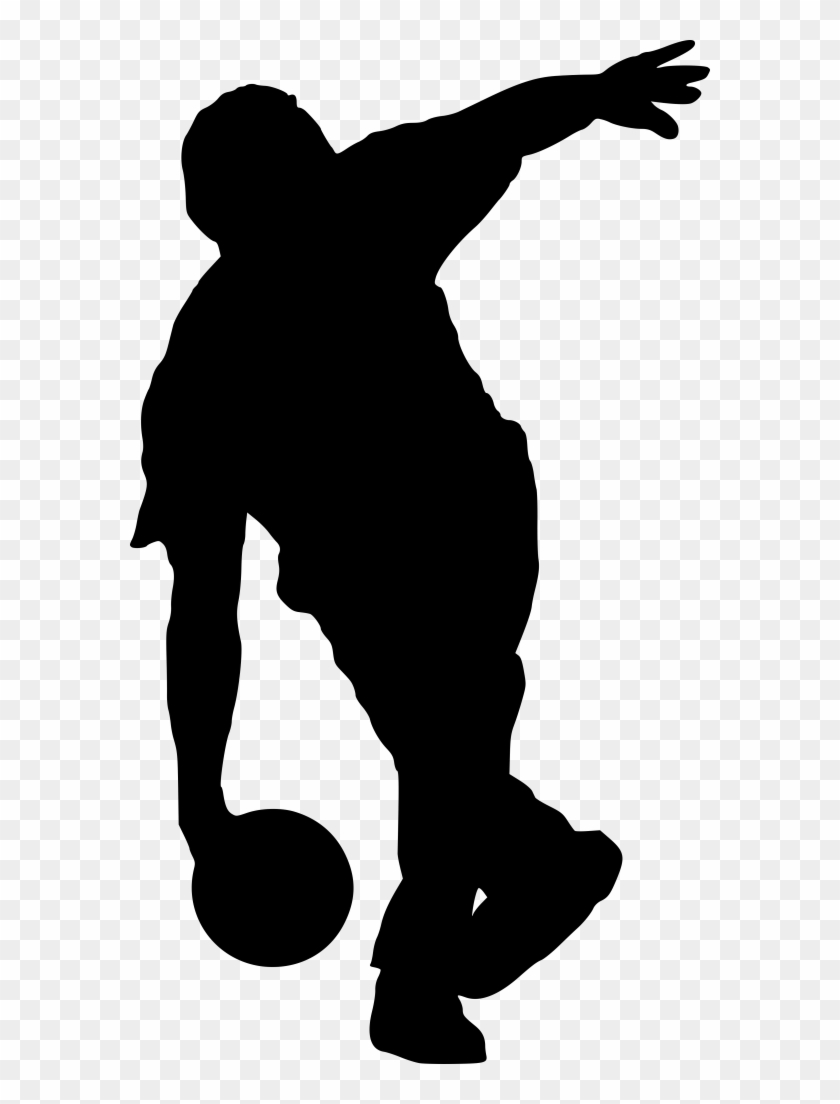 Free Png Sport Bowling Silhouette Png Images Transparent - Bowling Silhouette Png #102345
