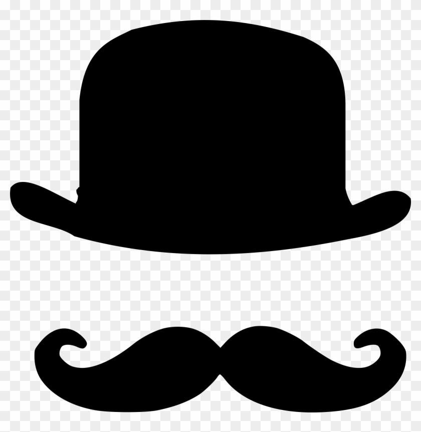 Bowling Clipart Hat - Mustache Hat #102431