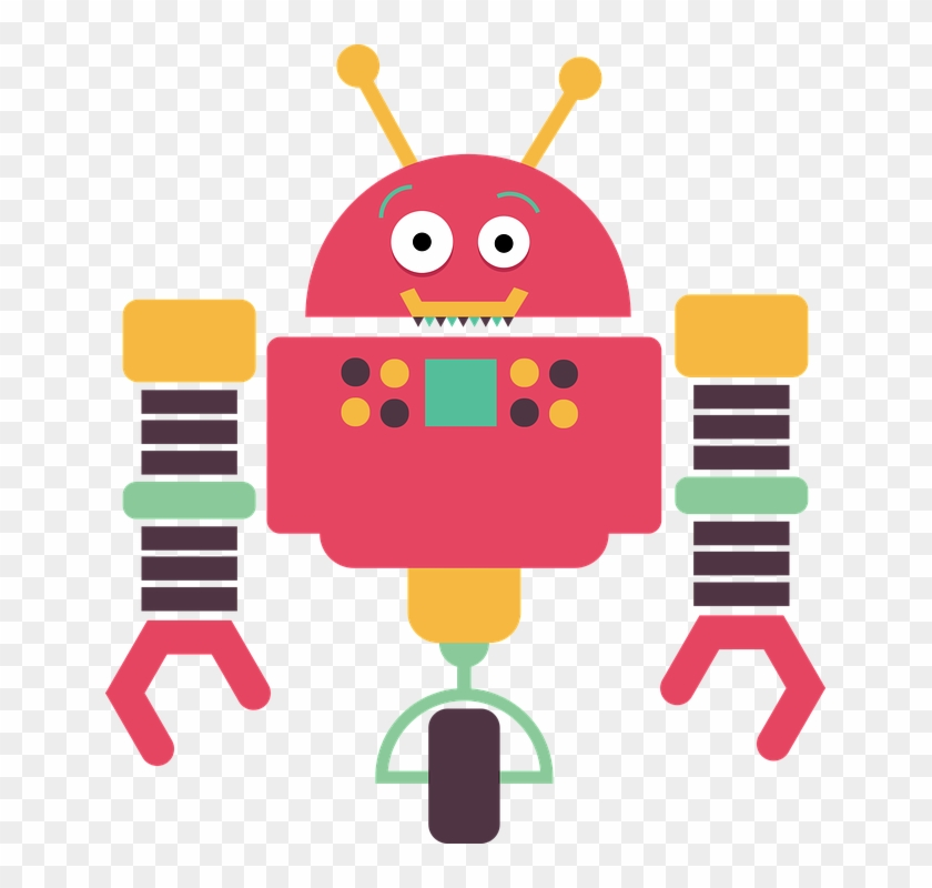 Robot Robotics Technology Software Illustration - Transparent Background Robot Clipart #102605
