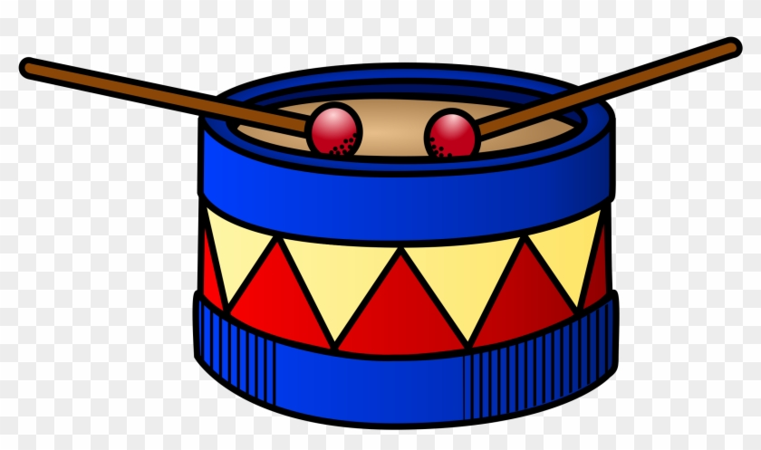 Summer Programs - Toy Drum Clipart #102642