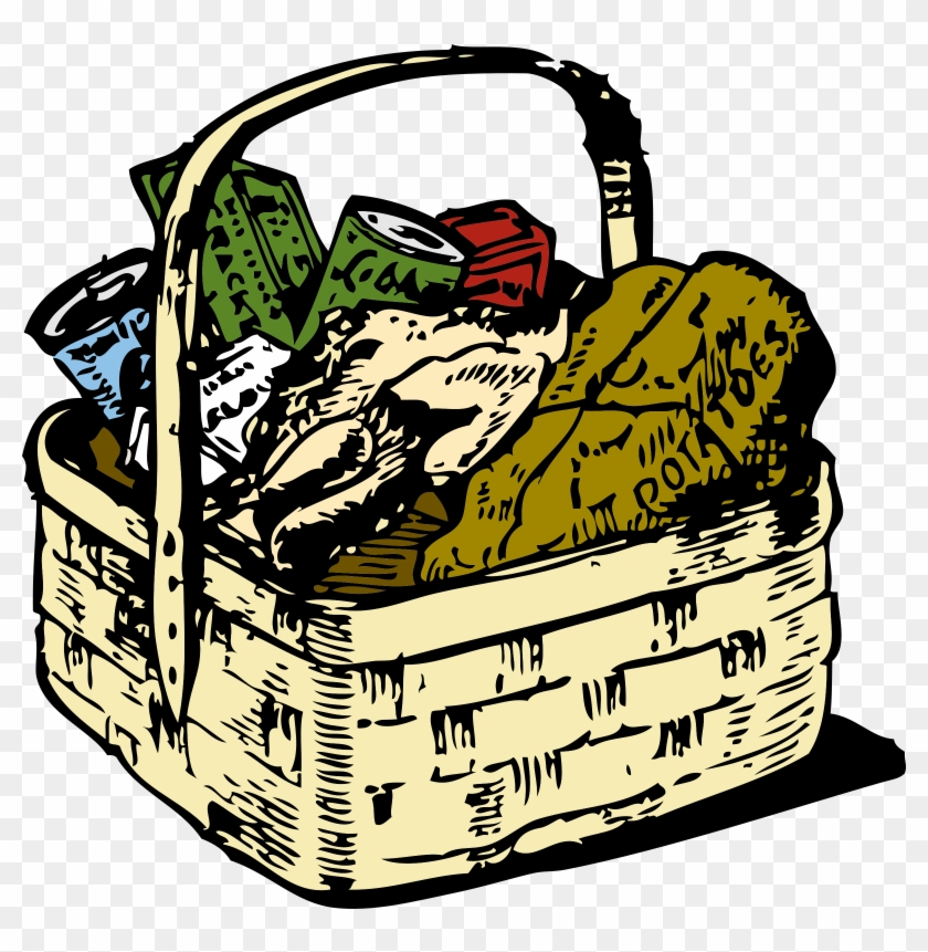 Food Basket - Food Basket Clip Art #102675