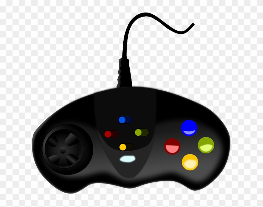 Video Games Rental Software System - Video Game Controller Png #102686