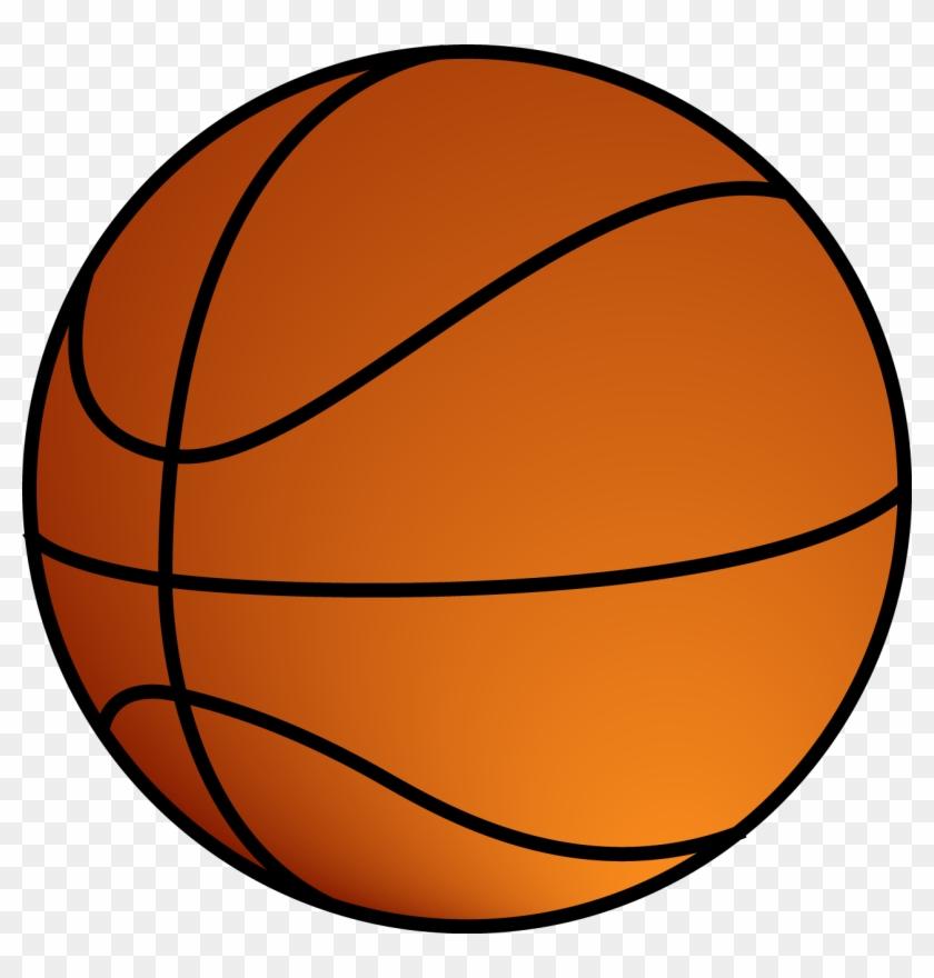 Basket Clipart Bola - Basketball Ball Png #102710