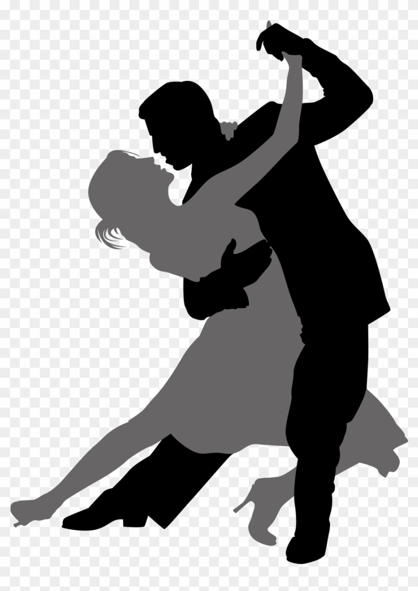 Dancing Clipart Quickstep - Man And Woman Dancing #102808