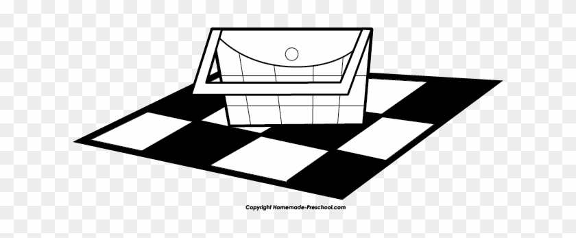 Picnic Basket Free Picnic Clipart - Free Black And White Picnic Clipart #102820